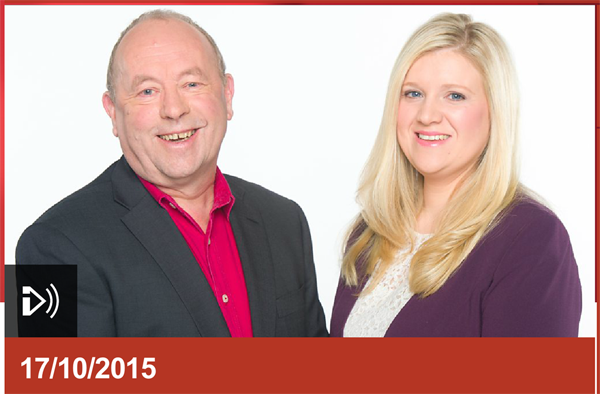 PIcture of 'Good Morning Wales' presenters from BBC Radio Wales website.
