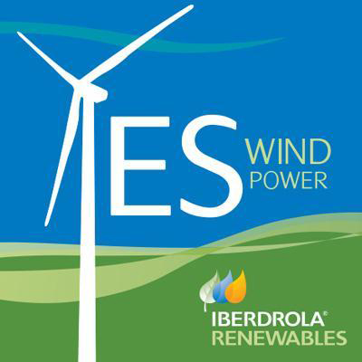 Ibedrola logo with renewables promise