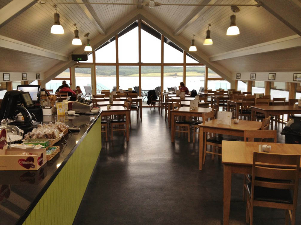 Llyn Brenig Visitor Centre Cafe where the 1st of 3 meetings thus far took place